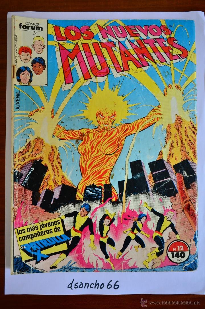 NUEVOS MUTANTES 12 - FORUM 1987 (Tebeos y Comics - Forum - Nuevos Mutantes)