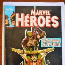 Cómics: MARVEL HÉROES 4; KITTY PRYDE Y WOLVERINE - FORUM 1987. Lote 45220670