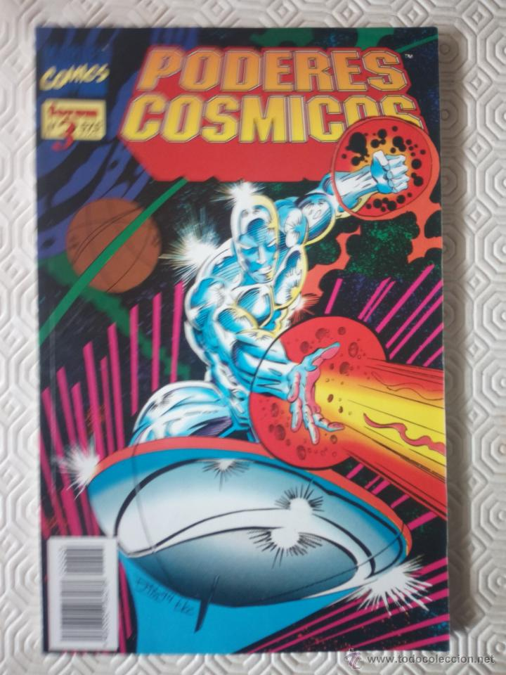PODERES COSMICOS TOMO 3 DE RON MARZ, RON LIM, TOM CHRISTOPHER, JIM STARLING, JEFF MOORE... (Tebeos y Comics - Forum - Silver Surfer)