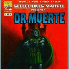 Cómics: SELECCIONES MARVEL PRESENTA: DR. MUERTE (PORTADA DE LÓPEZ ESPÍ) NUEVO. Lote 45281387