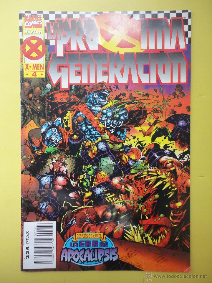 LA PRÓXIMA GENERACIÓN. X MEN 4 (Tebeos y Comics - Forum - X-Men)