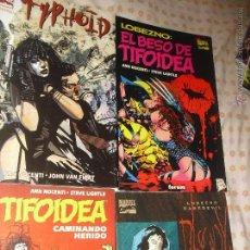 Cómics: LOTE MARÍA TIFOIDEA DE ANN NOCENTI 4 NºS - CAMINANDO HERIDO TYPHOID BLOODY MARY EL BESO DE TIFOIDEA. Lote 45319328