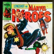 Cómics: LONGSHOT EN MARVEL HÉROES Nº 18 / FORUM 1988 (SERIE GRAPA). Lote 45443733