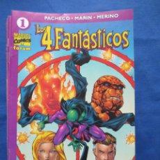 Cómics: LOS 4 FANTASTICOS VOLUMEN 4 FORUM - COLECCION COMPLETA 24 NUMEROS - CARLOS PACHECO. Lote 45517516