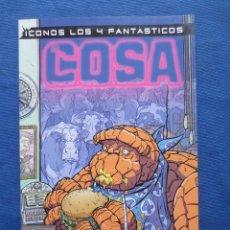 Cómics: LOS 4 FANTÁSTICOS - ICONOS MARVEL: LA COSA - TOMO TAPA BLANDA FORUM 2003. Lote 45518397