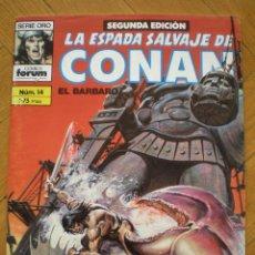 Cómics: LA ESPADA SALVAJE DE CONAN. N° 14. FORUM SERIE ORO. 2° EDICION. Lote 45549484