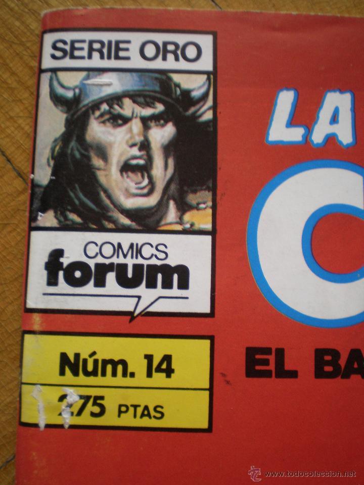 Cómics: LA ESPADA SALVAJE DE CONAN. N° 14. FORUM SERIE ORO. 2° EDICION - Foto 2 - 45549484