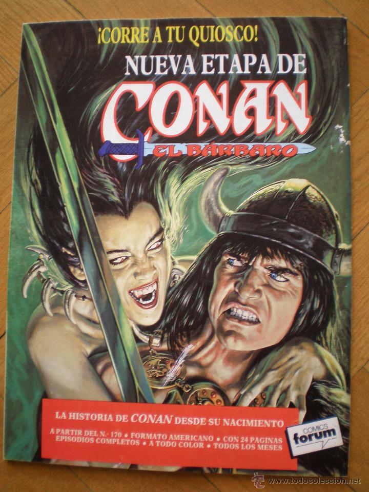 Cómics: LA ESPADA SALVAJE DE CONAN. N° 14. FORUM SERIE ORO. 2° EDICION - Foto 6 - 45549484