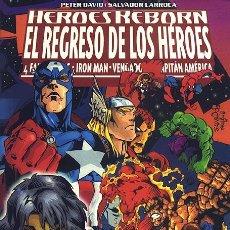 Cómics: HEROES REBORN: EL REGRESO DE LOS HÉROES - FORUM. VENGADORES.. Lote 134006162