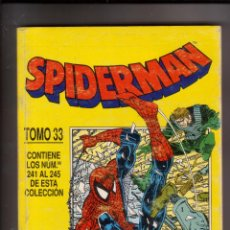 Cómics: FORUM - SPIDERMAN RETAPADO TOMO NUM. 33 ( NUM. 241-242-243-244-245 ). Lote 45673862