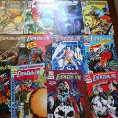 Cómics: DEATHLOK. EDICION 1990. Nº1 AL 9 +14 Y 15 +ESPECIAL INVIERNO. Lote 45720082