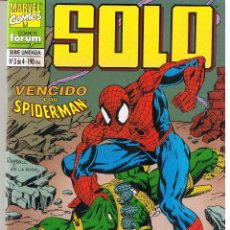 Fumetti: SOLO. SERIE LIMITADA: Nº 3 (DE 4). VENCIDO POR SPIDERMAN. FORUM (RF.MA)C/11. Lote 45757389
