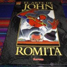 Cómics: FORUM SPIDERMAN EL ARTE DE JOHN ROMITA. 1999. TAPA DURA COMO NUEVO.. Lote 45810269