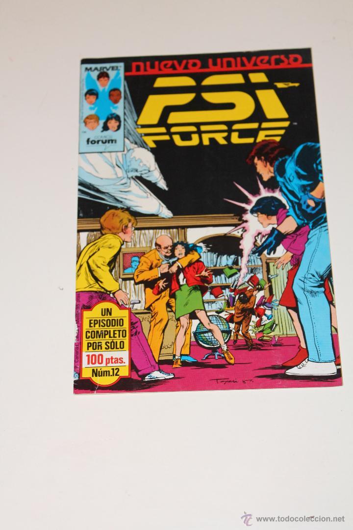PSI FORCE 12 FORUM NUEVO UNIVERSO (Tebeos y Comics - Forum - Otros Forum)