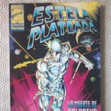Cómics: ESTELA PLATEADA: LA MUERTE DE GALACTUS 1 DE GLENN GREENBERG, MINKE LACKEY, TOM MORGAN, TOM GRINDBERG. Lote 45905695