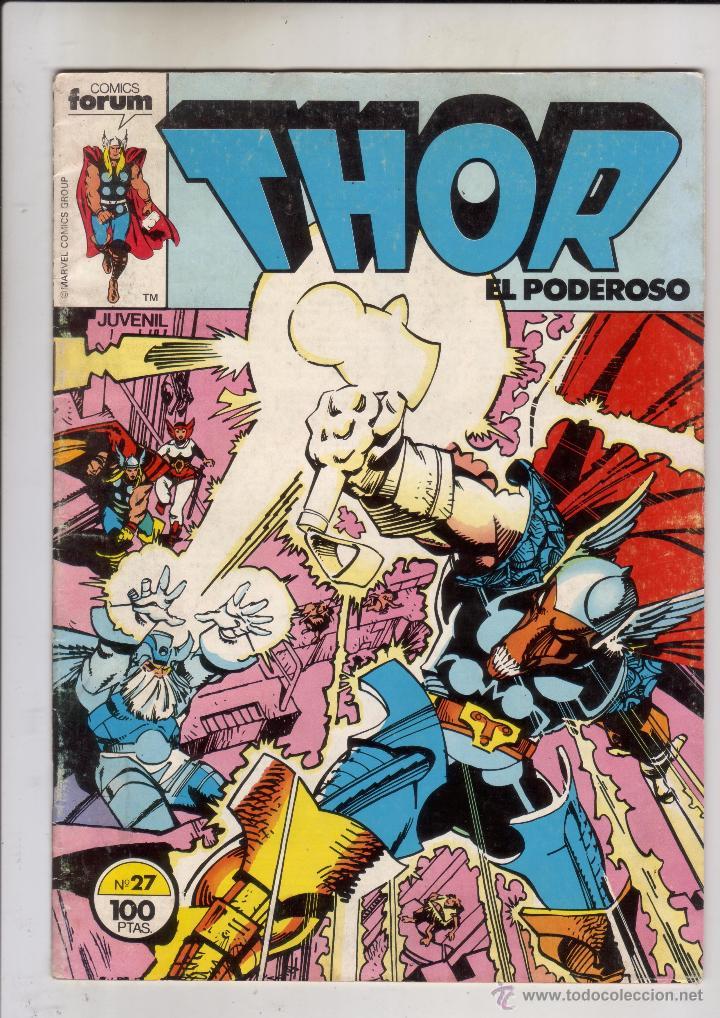 FORUM - THOR VOL.1 NUM. 27 - BUEN ESTADO (Tebeos y Comics - Forum - Thor)