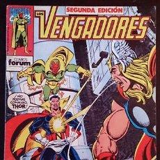 Cómics: LOS VENGADORES VOL 1 Nº 2 (2ª EDICIÓN) / MARVEL / FORUM 1991 (JIM SHOOTER & JOHN BYRNE). Lote 45979110