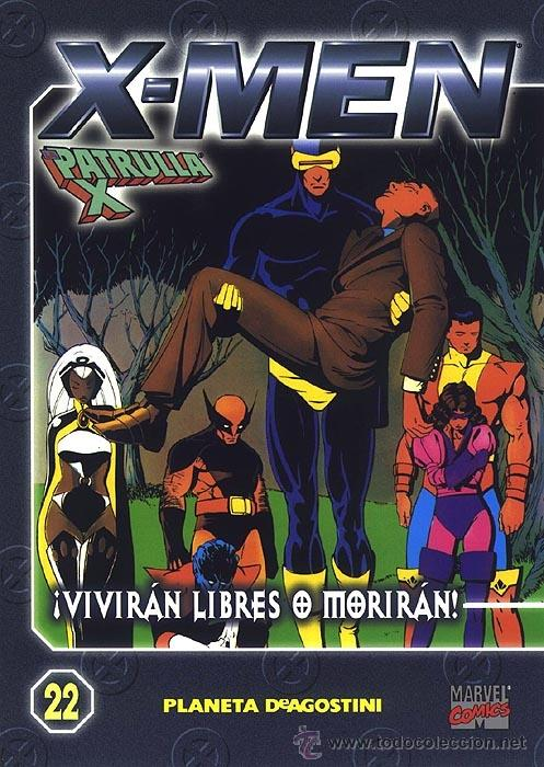 COLECCIONABLE X MEN , LA PATRULLA X 22 (Tebeos y Comics - Forum - X-Men)