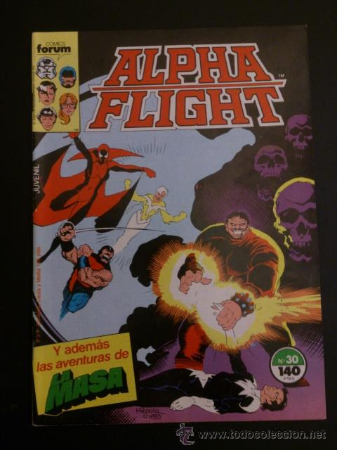 Colección completa Alpha Flight Vol 1 (con La masa Hulk a partir Nº35)  Forum (61 números de grapa)