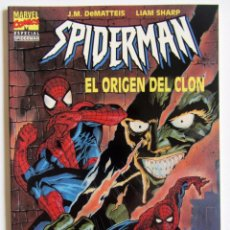 Cómics: SPIDERMAN-EL ORIGEN DEL CLON-1995-J.,M. DEMATTEIS-LIMA SHARP. Lote 137598378