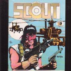 Cómics: SCOUT Nº 2 ( ECLIPSE COMICS ) -EDITA : FORUM. Lote 46250692