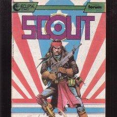 Cómics: SCOUT Nº 8 ( ECLIPSE COMICS ) -EDITA : FORUM. Lote 46250833