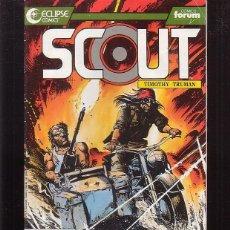 Cómics: SCOUT Nº 12 ( ECLIPSE COMICS ) -EDITA : FORUM. Lote 91686420