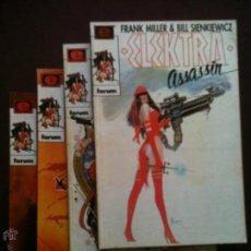 Cómics: ELEKTRA ASSASSIN Nº 1, 2, 3, 4 - COMPLETA - ESPECIAL - FRANK MILLER Y BILL SIENKIEWICZ. Lote 46314754