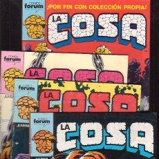 Cómics: LA COSA - LOTE Nº 1 AL 4 - FORUM (MARVEL) JOHN BYRNE ( OFERTA ). Lote 176778285