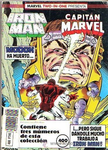 IRON MAN (FORUM) RETAPADO NUMEROS 47 48 49 (Tebeos y Comics - Forum - Retapados)