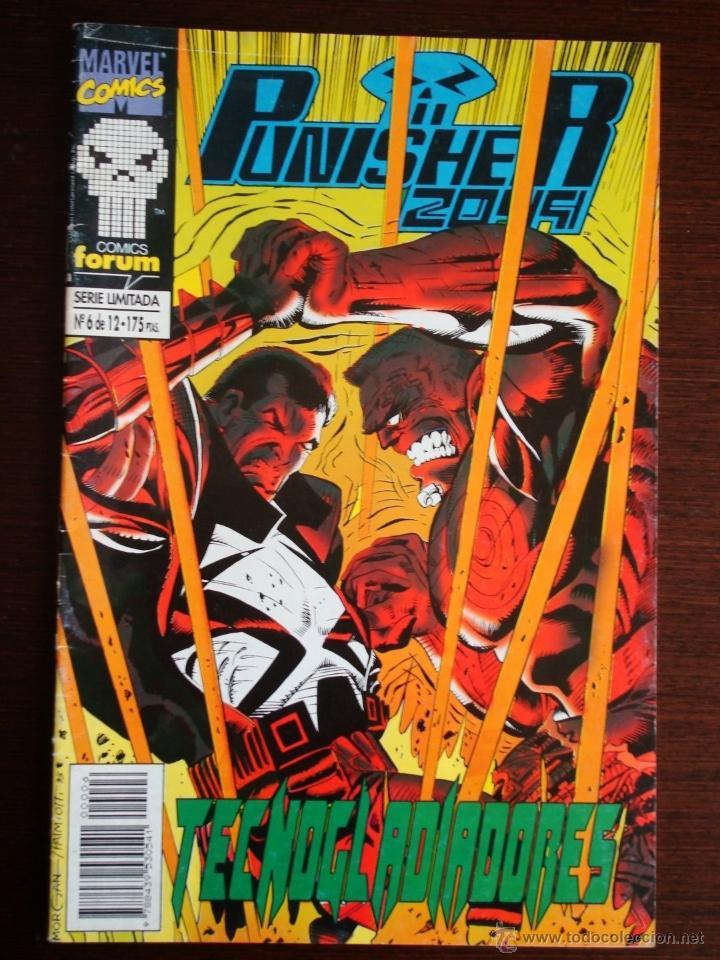 PUNISHER 2099 Nº 6 (DE 12) - FORUM (MARVEL) (Tebeos y Comics - Forum - Otros Forum)