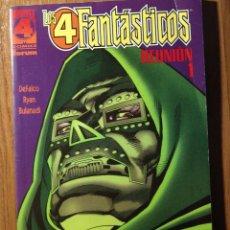 Cómics: LOS 4 FANTASTICOS REUNION Nº1 DEL VOLUMEN 1 DE FORUM IMPECABLE. Lote 46493029