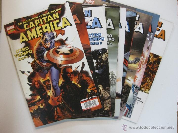 CAPITAN AMERICA.ROB LIEFELD-JEPH LOEB.HEROES REBORN Nº 1 AL Nº 8. FORUM 1997. (Tebeos y Comics - Forum - Capitán América)