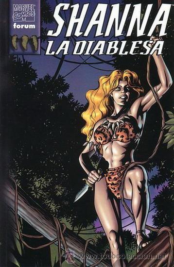 SHANNA LA DIABLESA. TOMO FORUM, 1998. (Tebeos y Comics - Forum - Prestiges y Tomos)