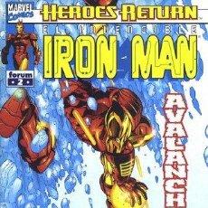 Cómics: IRON MAN VOL. 4 LOTE DE 14 Nº 2-4-5-6-7-8-9-10-11-13-14-15-16-18. Lote 46555414