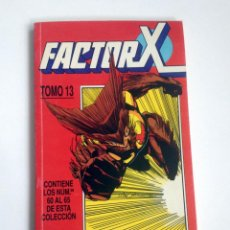 Cómics: FACTOR X TOMO 13 RETAPADO NUMEROS 60 AL 65 COMICS FORUM. Lote 46555730