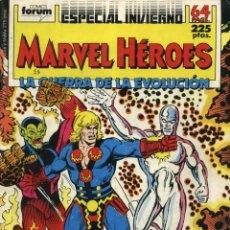 Cómics: MARVEL HÉROES ESPECIAL INVIERNO - ED. FORUM 1988. Lote 46593344