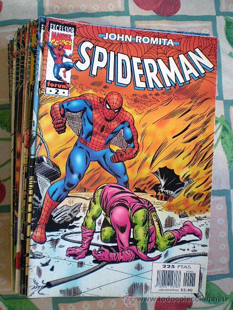 LOTE JOHN ROMITA SPIDERMAN (32 CÓMICS, ENTRE NºS 2 Y 46) NUEVOS (Tebeos y Comics - Forum - Spiderman)