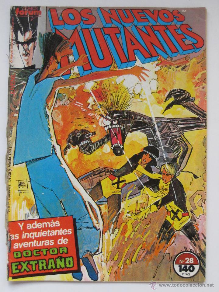 LOS NUEVOS MUTANTES Nº 28. FORUM (Tebeos y Comics - Forum - Nuevos Mutantes)