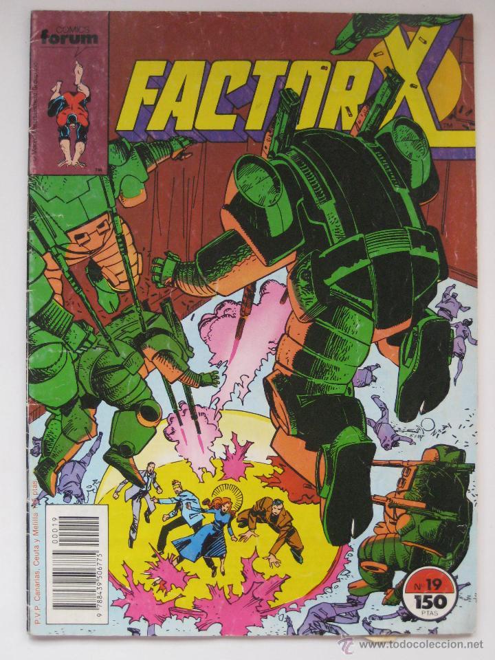 FACTOR X Nº 19. VOL. 1. FORUM (Tebeos y Comics - Forum - Factor X)