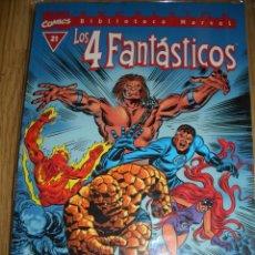 Cómics: BIBLIOTECA MARVEL: LOS 4 FANTÁSTICOS #21 (FORUM, 2000). Lote 46721014