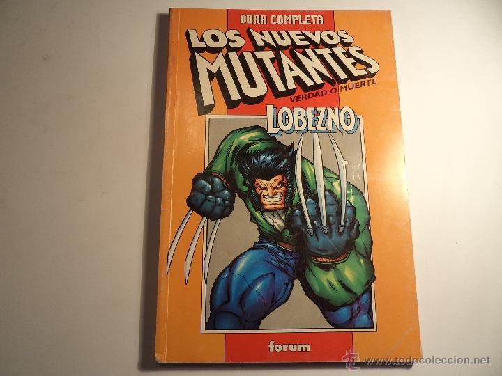 NUEVOS MUTANTES. VERDAD O MUERTE. FORUM. (Z-9) (Tebeos y Comics - Forum - Retapados)