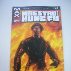 Cómics: MAX - Nº 1 - MAESTRO DE KUNG FU - MOENCH - GULACY FORUM BUEN ESTADO E01. Lote 46861928