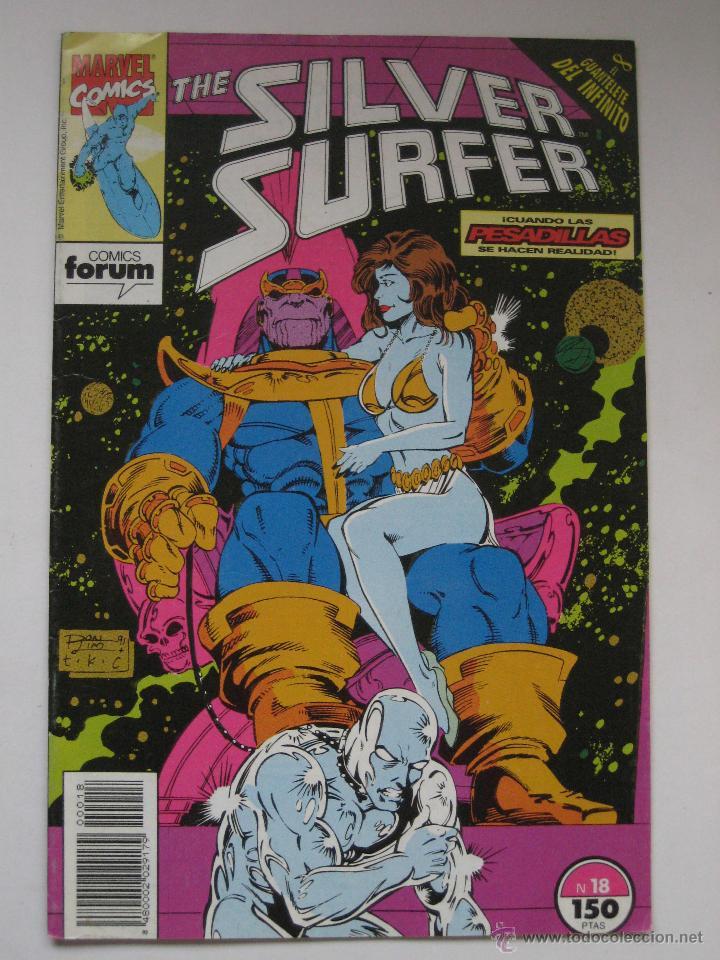 SILVER SURFER Nº 18. VOL. 2. ESTELA PLATEADA. FORUM (Tebeos y Comics - Forum - Silver Surfer)