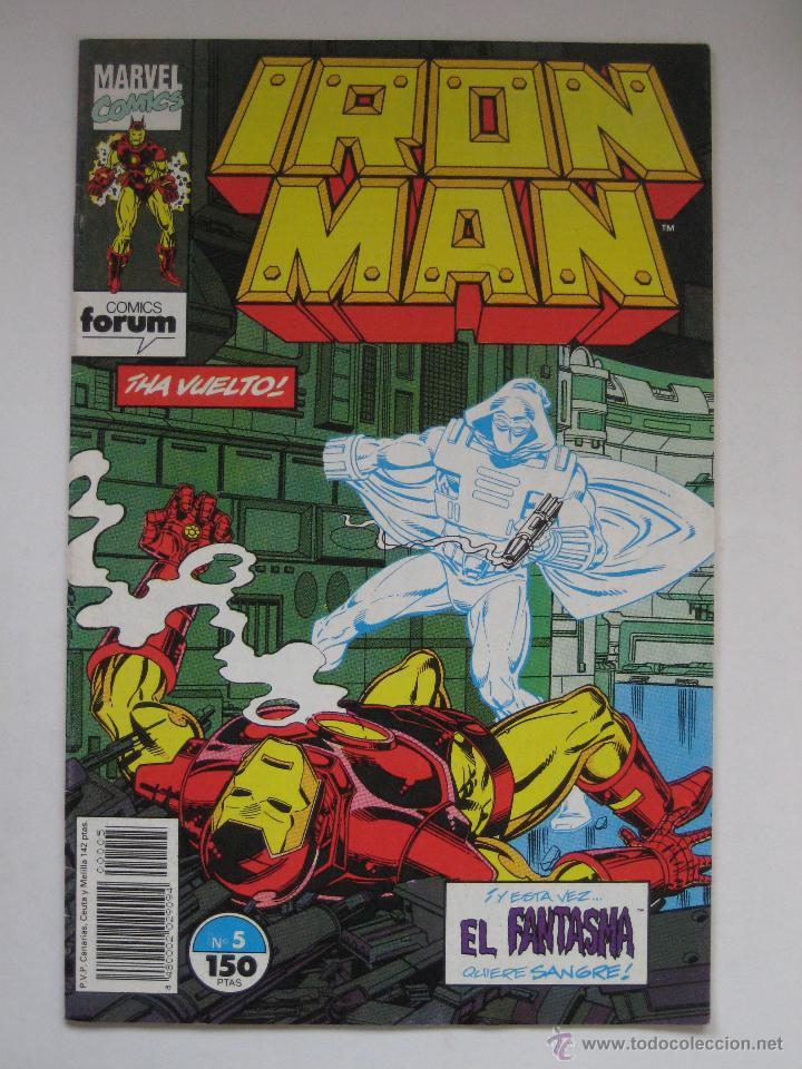 IRON MAN Nº 5. VOL. 2. FORUM (Tebeos y Comics - Forum - Iron Man)