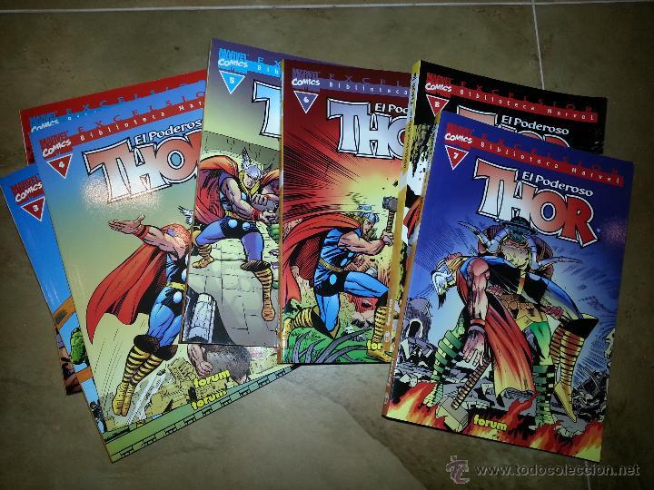 BIBLIOTECA MARVEL THOR NÚMEROS 1 A 7 (Tebeos y Comics - Forum - Thor)
