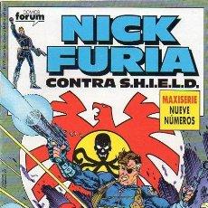 Cómics: NICK FURIA CONTRA SHIELD FORUM COMPLETA. Lote 46955601