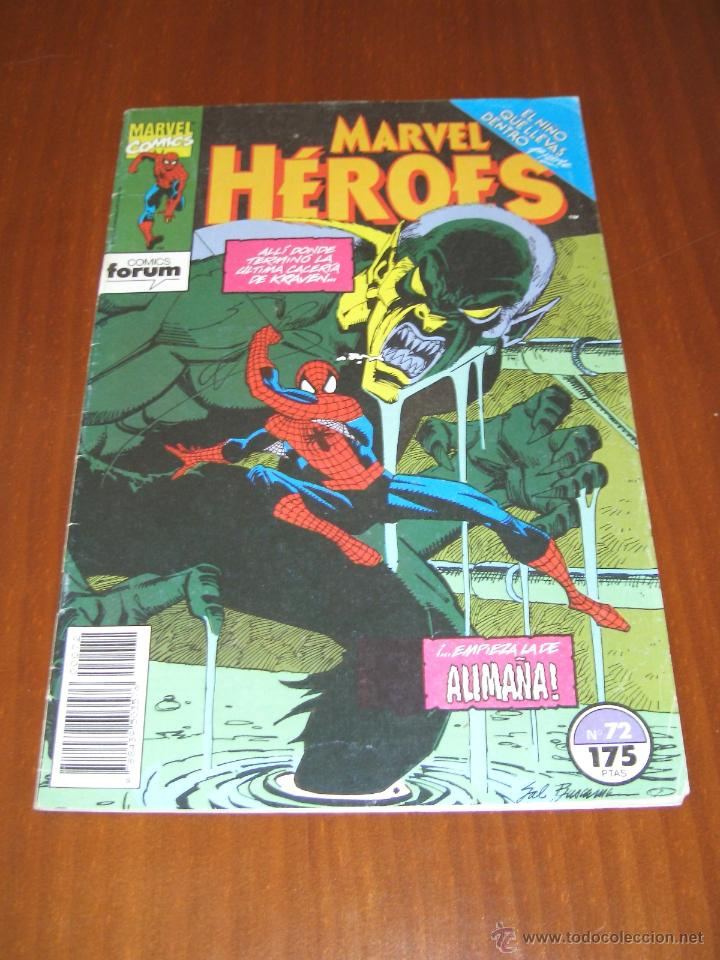 SPIDERMAN - EL NIÑO QUE LLEVAS DENTRO 1 - MARVEL HÉROES 72 - COMICS FORUM (Tebeos y Comics - Forum - Spiderman)