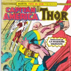 Cómics: MARVEL TWO-IN-ONE. CAPITAN AMERICA THOR. NUMERO 56. Lote 46969878