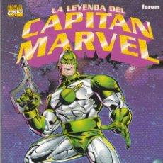 Cómics: LA LEYENDA DEL CAPITAN MARVEL. TOMO ESPECIAL. Lote 46969999